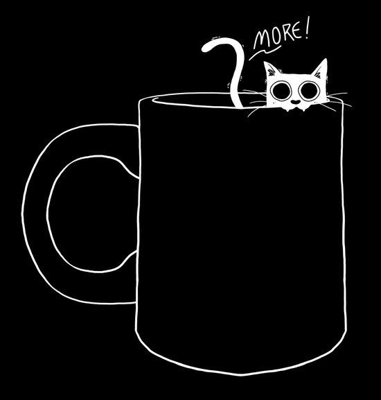I NEED MORE COFFEE Art Print
