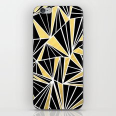 Ab Fan Zoom Gold iPhone & iPod Skin