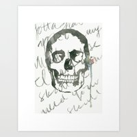 I Want Your Skull Art Print