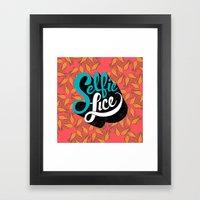 Selfie Lice Framed Art Print
