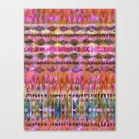 Ikat #8i Canvas Print