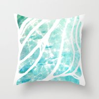 The See-Thru Sea Throw Pillow