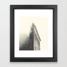 Flatiron & the Woods Framed Art Print
