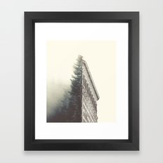 Flatiron & The Woods Framed Art Print
