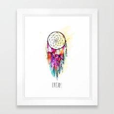 Dream 01 Framed Art Print