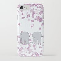 elephants iPhone & iPod Cases featuring Elephants by Ehud Neuhaus