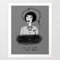 Lycca Art Print