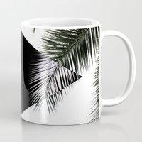Palm Leaves 3 Geometry Mug