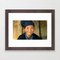 A witness Framed Art Print