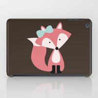 Pink Girl Fox  iPad Case