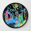 Night Life Wall Clock