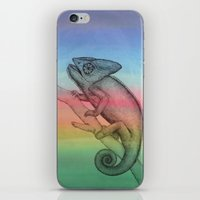 Chameleon (3) iPhone & iPod Skin