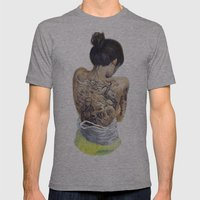 Winds Of Chang'e Mens Fitted Tee Athletic Grey SMALL