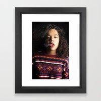 Breath. Framed Art Print