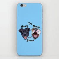 iPhone & iPod Skin featuring Harry Banks Show by WOOF Factory
