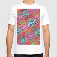 Tulip Trails 4 A Mens Fitted Tee White SMALL