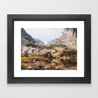 Lake Helene Framed Art Print