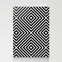 Chevron Diamond ///www.p… Stationery Cards