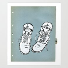 Shoes Art Print