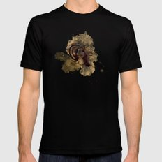 Portrait Mens Fitted Tee Black SMALL