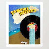 Vampire Weekend - Chicag… Art Print