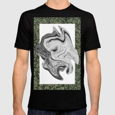LIQUIDO SMALL Black Mens Fitted Tee
