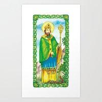 Saint Patrick Art Print