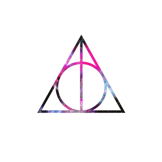 The Deathly Space Hallows Art Print