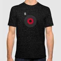 45 RPM Mens Fitted Tee Tri-Black SMALL