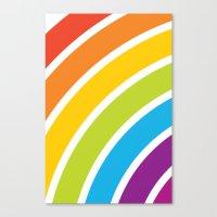 A Rainbow World Canvas Print