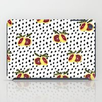 Blood Orange and Dots iPad Case
