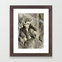 Blackstar Framed Art Print