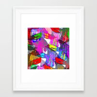 Fish From His Tank Framed Art Print