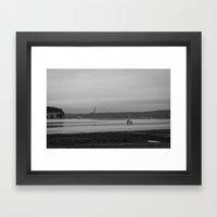 To Harbor Framed Art Print