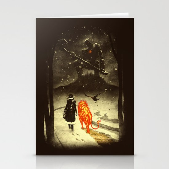 The Land Of Oz Stationery Card