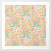 Forever Bouquet Art Print