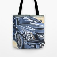 Black On Black {Cadillac… Tote Bag