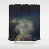 Break through II Shower Curtain