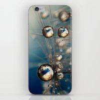 Royal Sea Blue Drops iPhone & iPod Skin