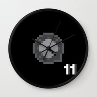 This is Pixel Tap Wall Clock