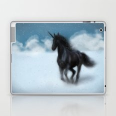 black unicorn Laptop & iPad Skin