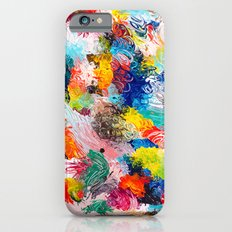 rainforest abstract 1 iPhone 6s Slim Case