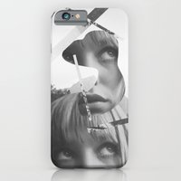 iPhone & iPod Case featuring She left pieces of her life by Akzidents
