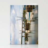 At The Dock Stationery Cards