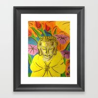 B-One Of Peace And Love Framed Art Print