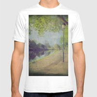 8719 Mens Fitted Tee White SMALL