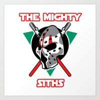 The Mighty Siths Art Print