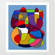 Art Print featuring Abstract #28 by (RLT)
