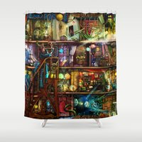 The Fantastic Voyage - A… Shower Curtain