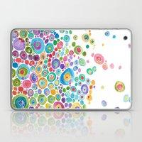 Inner Circle - White Laptop & iPad Skin